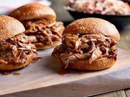 Pulled pork et burgers